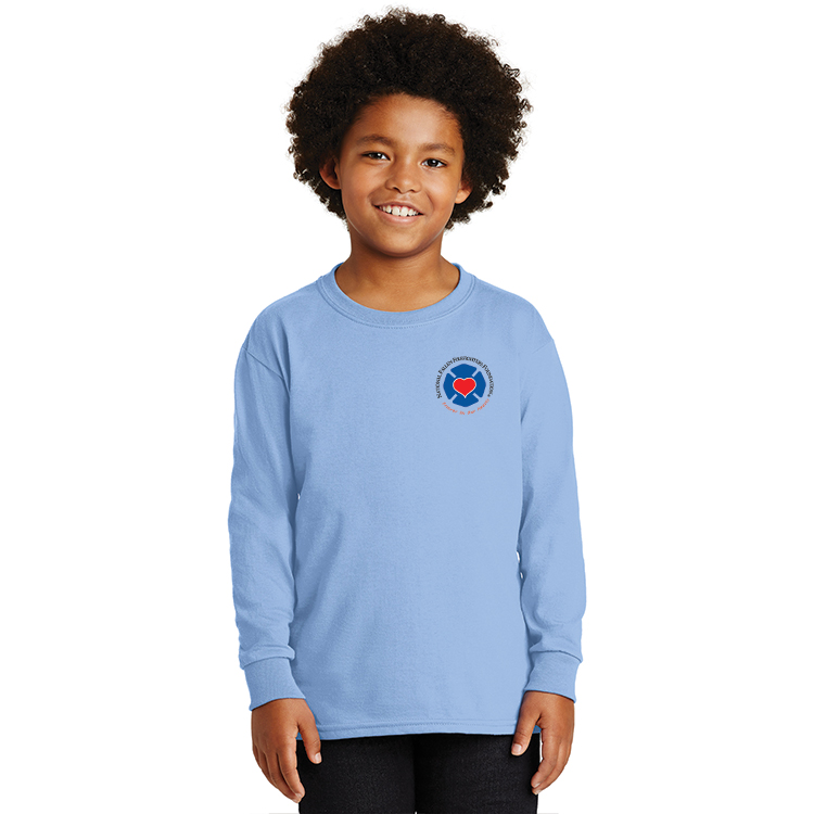 b74e418dc84 Home SHOP NFFF GEAR FOREVER IN OUR HEARTS YOUTH AND TODDLERS   Gildan - Ultra  Cotton Youth Long Sleeve T-Shirt