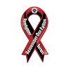Remember Our Fallen Firefighter Heroes Ribbon Magnet