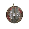 9-11 We Will Never Forget Lapel Pin - 1 inch